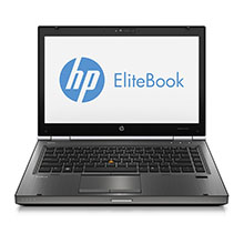HP Elitebook 8470w - 14.1 inch