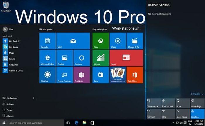 Windows 10 pro n là gì khác gì Win 10 pro