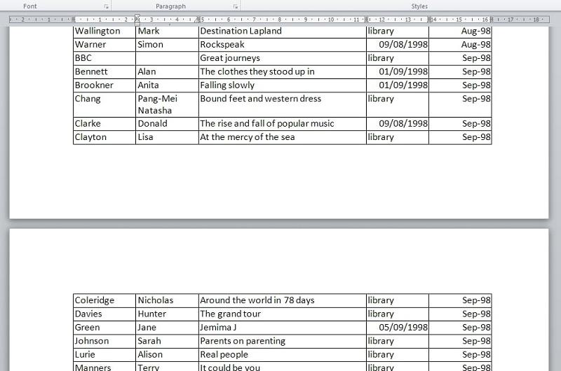 Cách sắp xếp tài liệu tham khảo theo thứ tự abc trong word