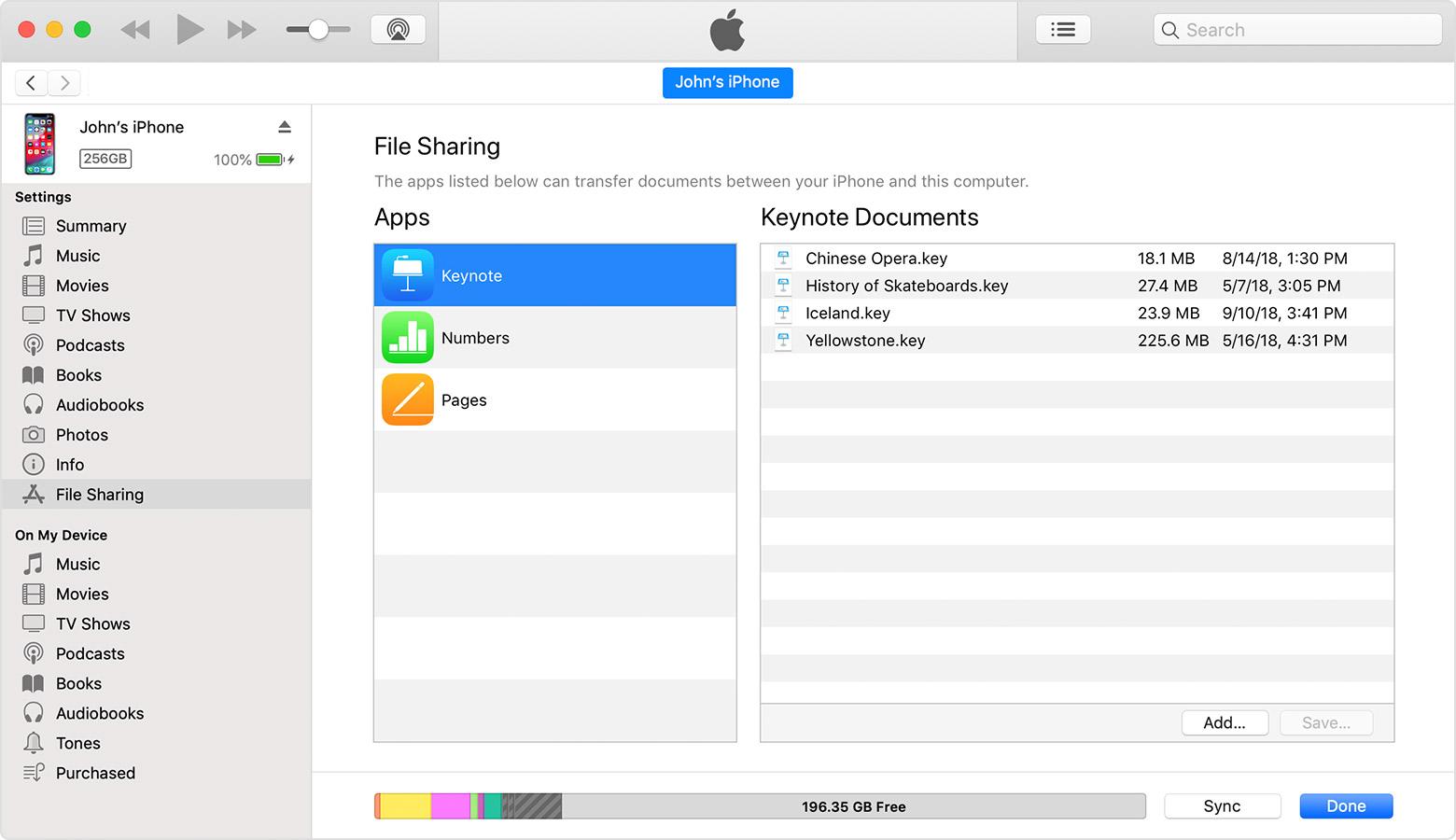 Cách chép hình ảnh từ iphone sang máy tính qua iTunes